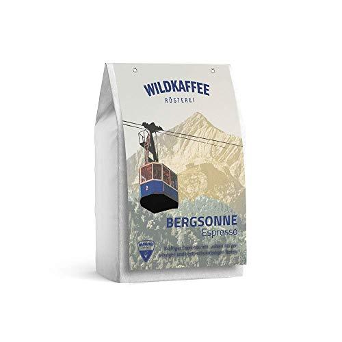 Wildkaffee Rösterei Bergsonne Espresso, 250 g, Ganze Bohne