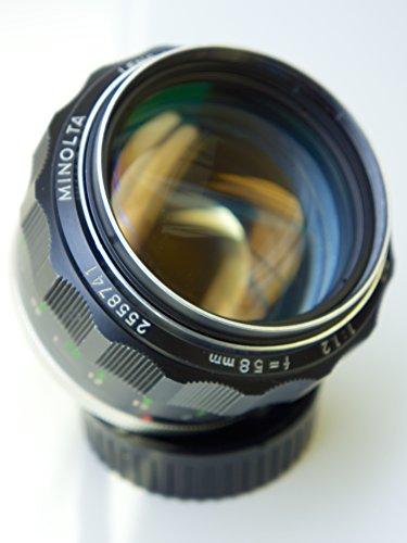 Minolta MC Rokkor-PG f1.2 58mm Lens (Second Generation MC II)