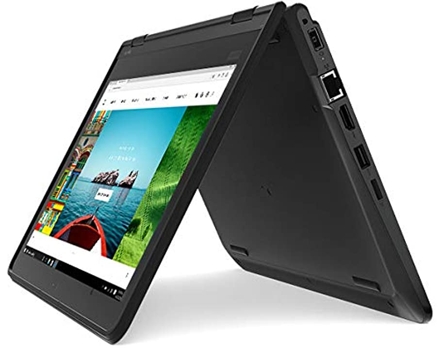 Premium Lenovo Thinkpad Yoga 11e 2-in-1 Business Laptop/Tablet - 11.6 IPS Touchscreen Gorilla Glass Intel Core m3-7Y30 1.0/2.6GHz 8GB RAM 128B SSD 802.11ac BT4 Webcam Dolby Audio Spill Resistant