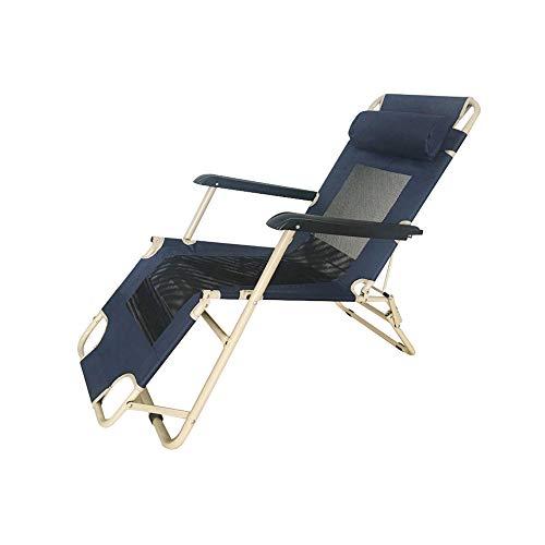 YQQ-Chaise pliante D'intérieur Fauteuil De Repos Chaise Longue Chaise De Plage Heure du Déjeuner Bureau 178 * 60 * 98CM