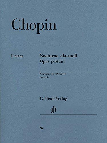 Nocturne cis-moll KK IVa, 16; Klavier zu zwei Händen