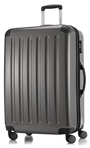SALE% HAUPTSTADTKOFFER® koffer met harde schalen · 3 koffergroottes (42 liter · 74 liter · 119 liter) · hoogglans · ofwel met normale of TSA-cijferslot + kofferhanger (119 liter, titanium)
