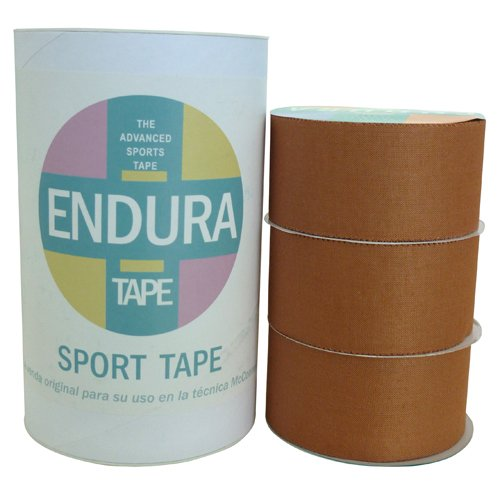 ENDURA Pack Sport Tape de 38 mm 3 Rollos