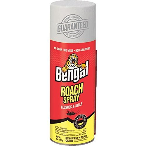 Bengal Products, Inc 92465 Bengal Roach Spray, Model: , Home & Garden Store