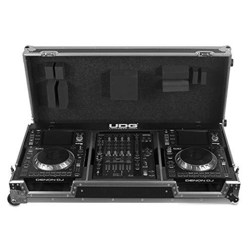 UDG Denon SC5000/X1800 + - Maletín con ruedas, color negro