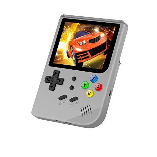 Anbernic Consola de Juegos portátil con Sistema Linux de Apertura Mejorada 2019, Retro con incorporada en 3007 Juegos clásicos, Consola de Videojuegos Vidrio Templado de 3 Pulgadas