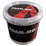 Foam-Mo Moldable Foam Clay for Cosplay- Light Weight, Air Dries Dense Like EVA Foam, Sands and Paints Easily, Non-Toxic |300 Gram and 900 Gram Big Tub Sizes|