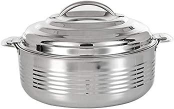 Almarjan- Set Of 3 Pcs Stainless Steel Hotpot- Silver