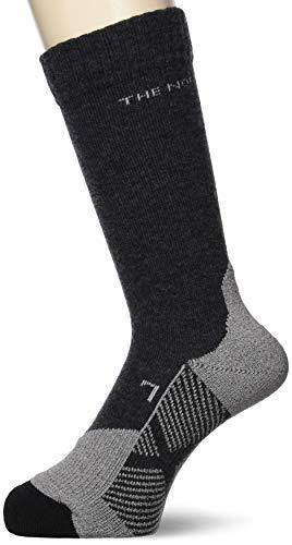 [ザノースフェイス] 靴下 テックソックス トレッキング DH メリノ マルチ パイル NN82029 ブラック L