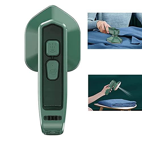 Micro Plancha de Vapor Profesional Mini vaporizador de Ropa de Mano inalámbrico portátil, para el hogar y los Viajes, 100 ml