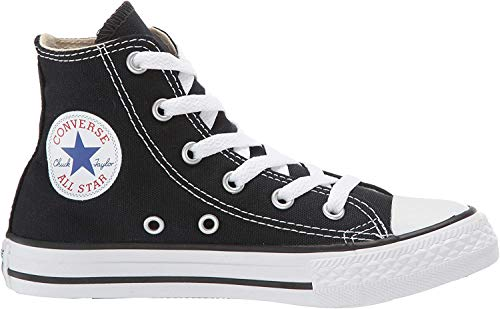 Converse Kids's CT A/S HI BASKETBALL SHOES 2.5 (BLACK)