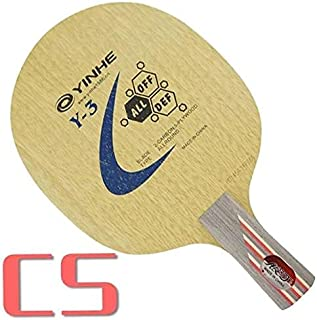 Table Tennis Rackets - Galaxy Milky Way Yinhe Y-3 Y 3 Y3 5 Wood + 2 Carbon Allround Table Tennis Blade for PingPong Racket...