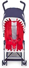 Maclaren Shark Buggy- Super Lightweight, Sleek, Compact, Easy to Steer. One-Hand fold, Extended Canopy, 5 Point Harness, Reclining seat, 4 Wheel Suspension. Accessories in The Box.