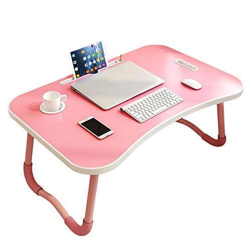 Mesa Plegable, Simple Laptop De Escritorio Dormitorio Dormitorio Estudio Estudio De Escritorio De Mesa Perezosa Mesa Pequeña (gaygay Polvo)