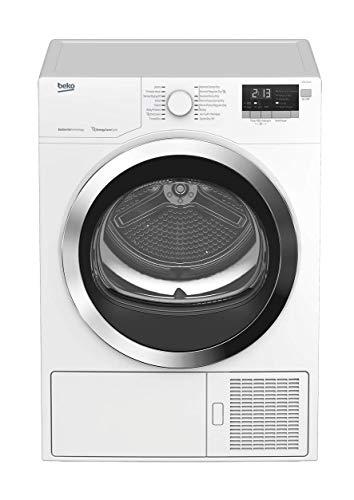Beko HPD24412W 24 Inch Ventless Heat Pump Dryer with 4.1 Cu. Ft, Anti Creasing, Gentle Care, Reversible Door, RoHS Compliant and Energy Star Qualified