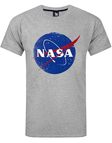Nasa Espacio Lamentando Hombres del Logotipo de la Camiseta