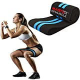 Hip Resistance Band – Heavy Fabric Hip Bands for Glute & Legs Activation Before Squat & Deadlifts...