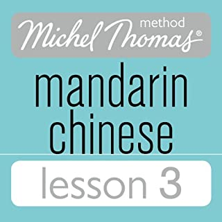 Michel Thomas Beginner Mandarin Chinese Lesson 3 audiobook cover art
