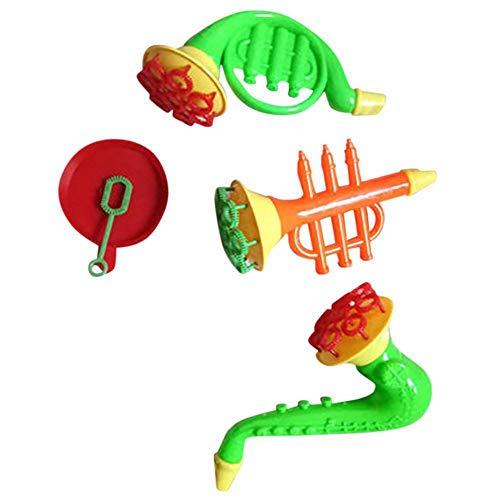 flybuild Kreative Multi-Loch-Trompete Wasser Seife Blasen Blasen Outdoor Kinder Kinder Spielzeug Random Style