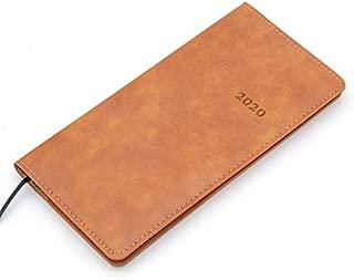 Durable Notebook Planer Agenda Tagebuch Journaly Agenda Planer Organizer Hinweis Buch Office (Farbe : Gelb, Größe : A6)