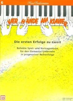 Vier Hände am Klavier, Bd. 6 by Hans Bodenmann (1994-09-05)