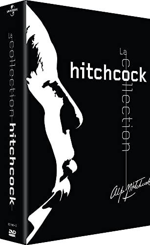 Coffret Hitchcock 7 DVD - Noir : Fenêtre sur cour / L'Ombre d'un doute / La Cinquième colonne / La Corde / L'Homme qui en savait trop / Mais qui a tué Harry / Psychose