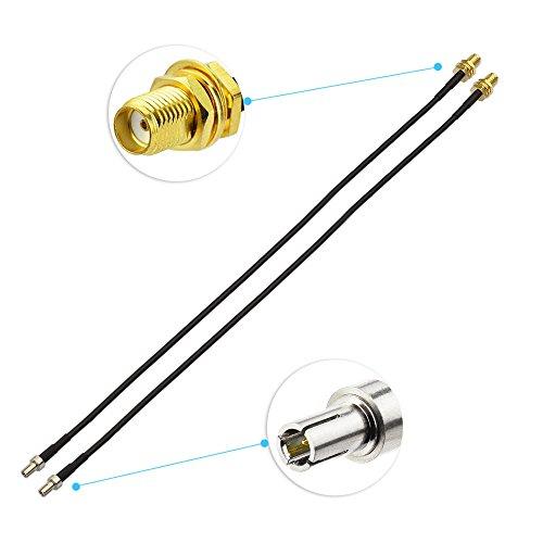 Eightwood SMA Kabel 4G LTE Antenne SMA Buchse auf TS9 Stecker mit 30cm 11.8inch RG174 2 Stücke für Hsdpa Huawei 2G 3G 4G LTE Antenne UMTS Mobile Broadband MEHRWEG