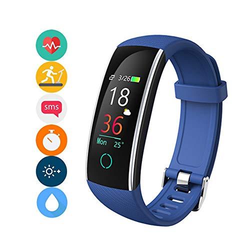 HGFDSA Fitness Tracker IP68 Waterproof Environmental Sport Smart Watch Multiple Motion Modes Activity Tracker with HR BP Calories Pedometer Sleep Monitor, Best for Man Women & Kids,Pink