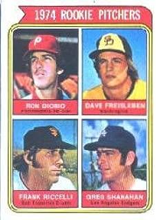 1974 Topps Baseball Rookie Card #599A Diorio/Freisleben/Riccelli/Shanahan