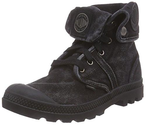 Palladium Damen Pallabrouse Baggy Combat Boots, Schwarz (black/metal 069), 38 EU