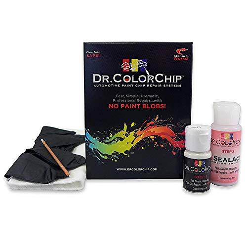 Dr Colorchip Drcolourchip - Pintura de reparación de arañazos compatible con el kit de reparación de escarabajo Volkswagen (2015-2017), color blanco plateado metálico