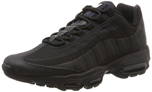 Nike Air Max 95 Ultra Essential, Zapatillas de Running Hombre, Negro (Black/Black/Black), 38.5 EU