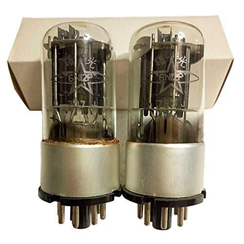 Shuguang Brand 6N12P Military J Level Vacuum Tube VaIve Instead of 6H12C 6SN7 6N8P 6H8C TS229 5687 60s for HiFi Hi-end Amplifier Audio Senior Player Headphone Pro-amp Fever Acoustic DIY Lab 1pc