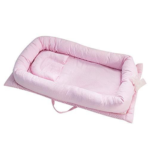 VIUNCE baby bumper baby opvouwbare slaapkribbe 90 * 50 * 15 cm draagbare kribbe huisje mand baby reisbed kribbe beddengoedset kribbe