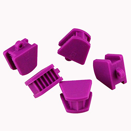 Airgoesin 5pcs Silicone Mouth Prop, Small Size Child Kid Size Dental Bite Blocks Oral Opener 135 Degree Centigrade Autoclavable LATEX FREE