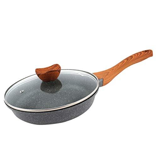 HSJ LF- Sartén de inducción, Antiadherente sartenes, Antiadherente de cerámica Sartén Tortilla Pan Pan Crepe del Filete del sartén Crepe Pan Pan Melaleuca