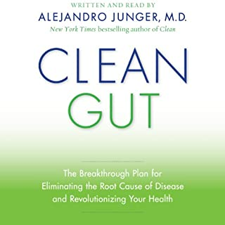 Clean Gut audiobook cover art