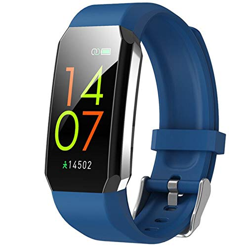 WPH T3 IP67 Reloj Inteligente A Prueba De Agua Termómetro De Cuerpo Termómetro Aptitud Pulsera Monitor De Ritmo Cardíaco Sport Trackers Smartwatch Hombres Mujeres,B
