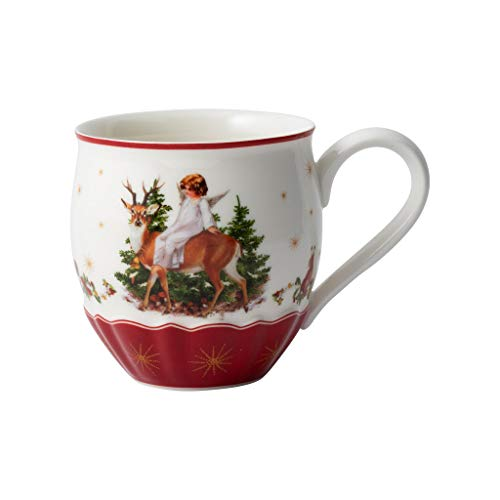 Villeroy & Boch Annual Christmas Edition Jahresbecher 2020, Premium Porcelain, weiß, 23,5 cm / 0,33 l