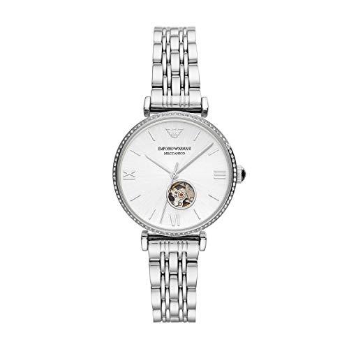 Emporio Armani Ladie's Analogue Quartz Watch with Stainless Steel Strap AR60022