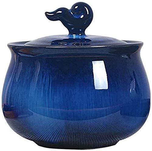 OLLY-Urns Urne klein Waldblaue Einäscherung Urne for menschliche Asche -...
