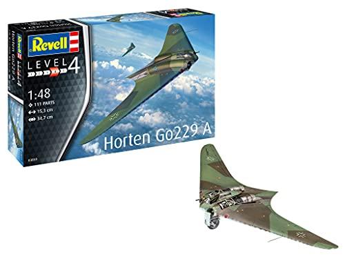 Revell 03859 Horten Go229 A-1 Model Kit 1:32 Scale A-1-Maqueta (Escala