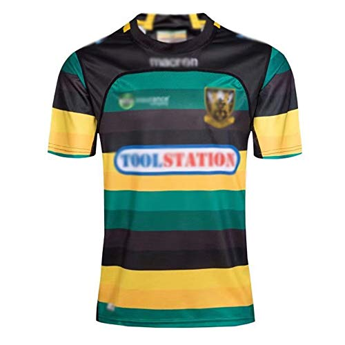 ZZNB NRL Rugby Jersey, 17-18 North Annanpu, Rugby Jersey, Jerseys for Male Players, Fans Support Short Jerseys Quick-Drying Jerseys Training Uniforms,Green,XXL