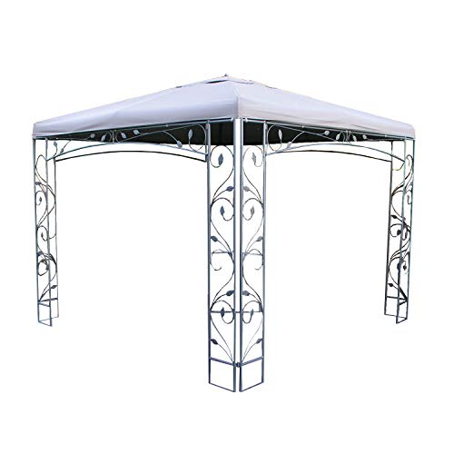 Garden Winds Replacement Canopy Top Cover for The Martha Stewart Victoria Collection Gazebo 10' x 10'