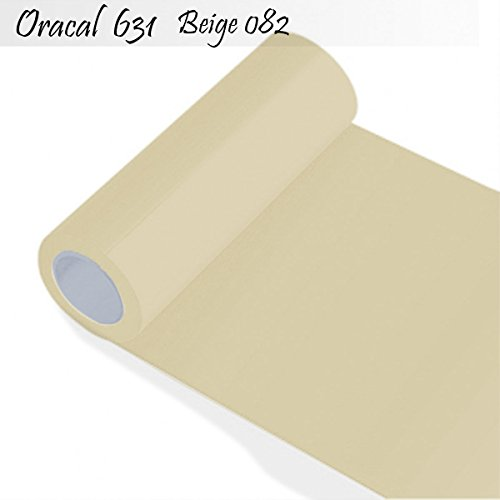 INDIGOS Oracal 631 Orafol matt, für Küchenschränke und Dekoration, Autobeschriftung, Schutzfolie Folie 5 m, Breite 63 cm, Farbe 82, beige, ORACAL631-1-5mx63-82