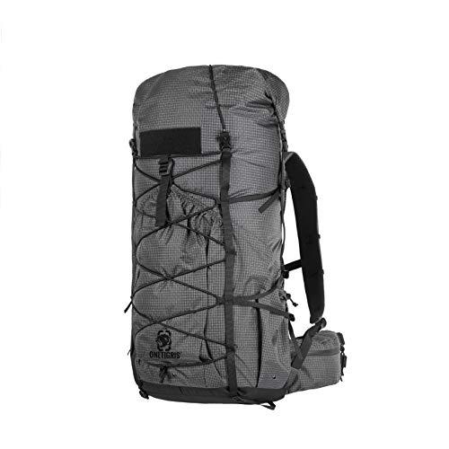 OneTigris 35 + 5L Rucksack LITE ROAMER Trekkingrucksack Ultraleicht Roll-up UL Rocsack für Jagd Camping Reisen Outdoor | MEHRWEG