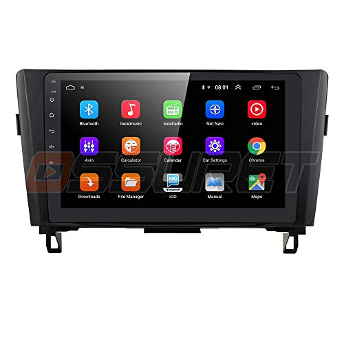 Android 10 OS 10.1 Pulgadas Car Radio GPS Navigator para Nissan X-Trail Qashqai Rogue 2014 2015 2016 2017 2018 Compatible con Bluetooth 4.0 SWC WiFi 4G