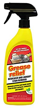 Grease relief Degreaser and Laundry Stain Remover 18 Ounce