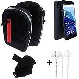 K-S-Trade® Outdoor Belt Pouch Holster Shoulder Bag For