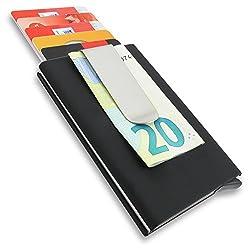 Kreditkartenetui mit RFID & NFC Schutz gegen Diebstahl digitaler Daten | Kreditkartenhülle